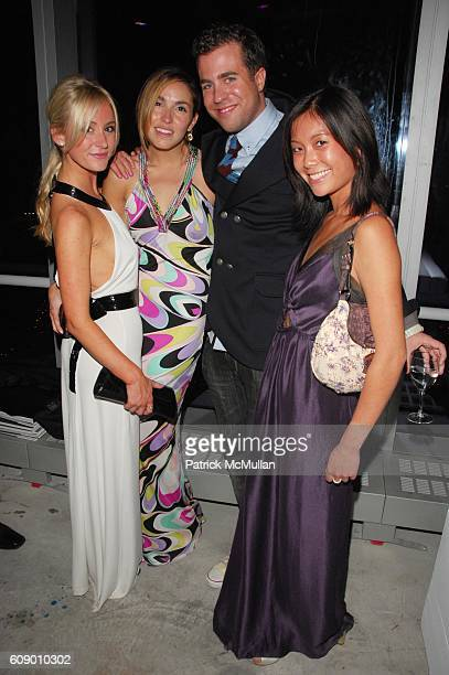 Caitlin Kelly Anya Assante Kristian Laliberte and Stephanie Wei attend NAOMI CAMPBELL helps OPERATION SMILE celebrate 25 years of smiles at 7 World...