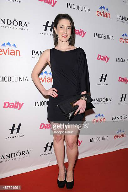 Caitlin Kelly attends the Models Issue Party presented by The Daily Front Row and Modelinia>> at Harlow on February 7 2014 in New York City