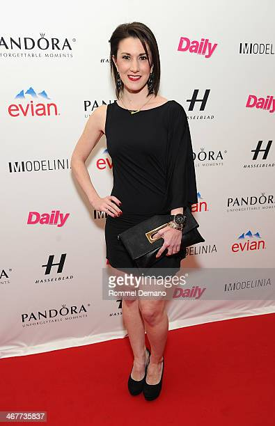Caitlin Kelly attends the Models Issue Party presented by The Daily Front Row And Modelinia at Harlow on February 7 2014 in New York City