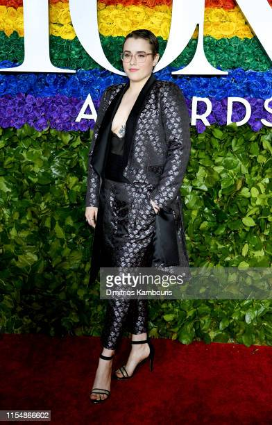 Caitlin Kinnunen attends the 73rd Annual Tony Awards at Radio City Music Hall on June 09 2019 in New York City