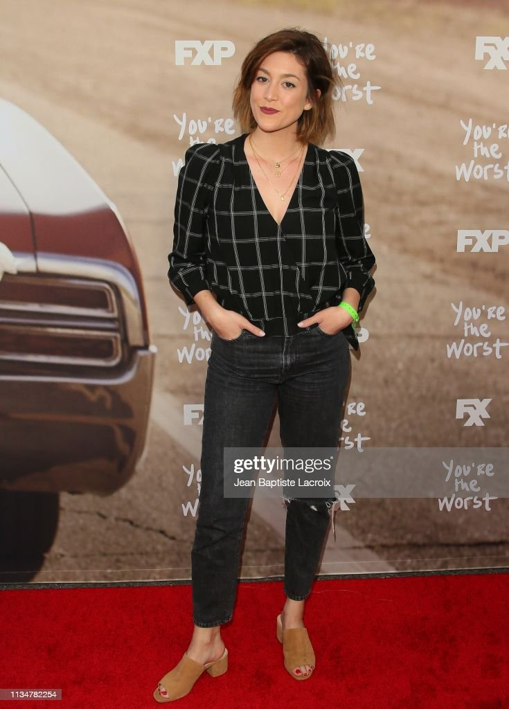 "FXX's ""You're The Worst"" For Your Consideration Red Carpet Event : Foto jornalística"