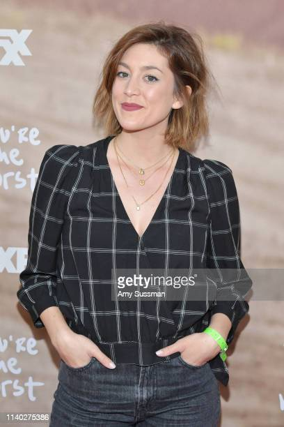 Caitlin McGee attends FXX's You're The Worst For Your Consideration event at Regal Cinemas LA Live on April 03 2019 in Los Angeles California
