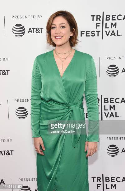 Caitlin McGee attends the Standing Up Falling Down screening at the 2019 Tribeca Film Festival at SVA Theater on April 25 2019 in New York City