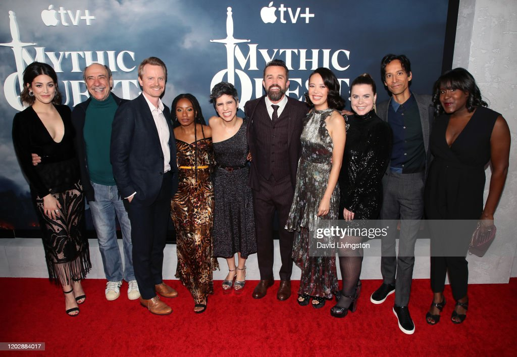 "Premiere Of Apple TV+'s ""Mythic Quest: Raven's Banquet"" - Arrivals : News Photo"