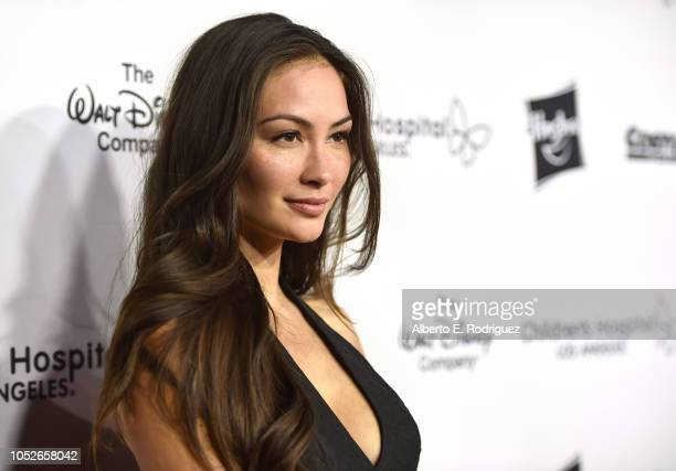 Caitlin McHugh attends the 2018 Children's Hospital Los Angeles 'From Paris With Love' Gala at LA Live on October 20 2018 in Los Angeles California