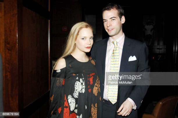 Caitlin Mehner and Eric de Cholnoky attend APRIVATECLUBCOM Hosts ASSOULINE Book Launch at Hudson Hotel Library on March 24 2009 in New York City