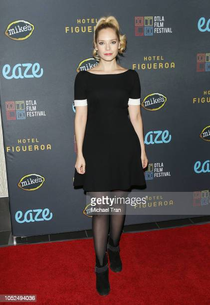 """Caitlin Mehner attends the 2018 Downtown Los Angeles Film Festival - """"All Creatures Here Below"""" """"Original Sin"""" And Perception"""" Press line held at..."""