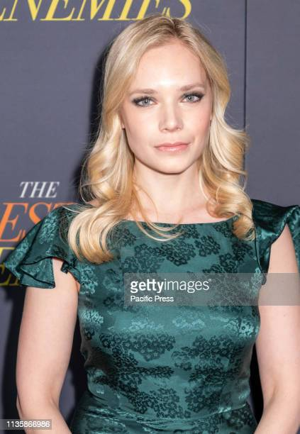 Caitlin Mehner attends 'The Best Of Enemies' New York Premiere at AMC Loews Lincoln Square, Manhattan.