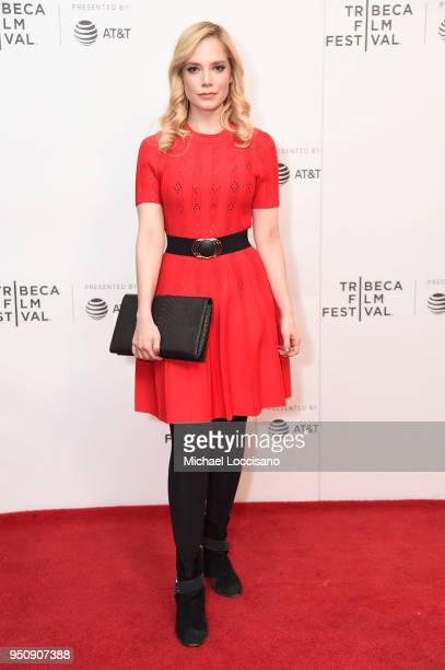 Caitlin Mehner attends the screening of 'Nigerian Prince' during the 2018 Tribeca Film Festival at Cinepolis Chelsea on April 24 2018 in New York City