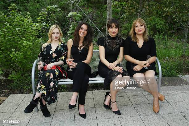 Caitlin Mehner Jenna Laurenzo Natalie Morales and Kulap Vilaysack attend the 4th Annual Bentonville Film Festival Awards on May 5 2018 in Bentonville...