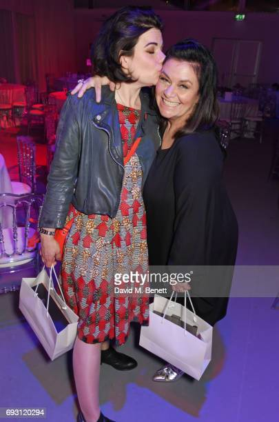 Caitlin Moran and Dawn French attend the Glamour Women of The Year Awards 2017 in Berkeley Square Gardens on June 6 2017 in London England