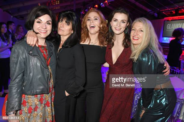 Caitlin Moran Emma Freud Angela Scanlon Aisling Bea and guest attend the Glamour Women of The Year Awards 2017 in Berkeley Square Gardens on June 6...