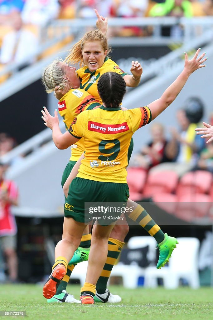2017 Rugby League Women's World Cup Final - Australia v New Zealand