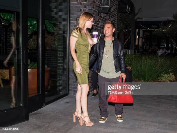 Caitlin O'Connor and Michael Kuluva are seen on September 07 2017 in Los Angeles California