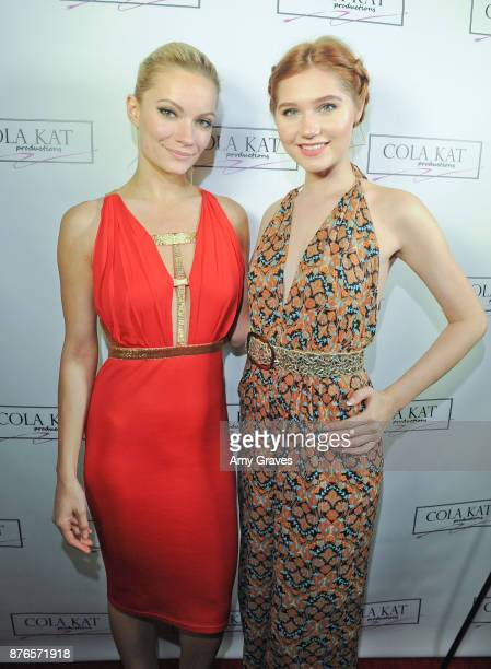 Caitlin O'Connor and Serena Laurel attend the 'Who Is Billy Bones' TV Premiere Event on November 19 2017 in Beverly Hills California