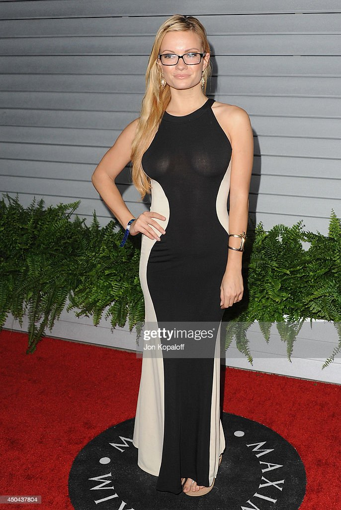 Caitlin O'Connor arrives at the MAXIM Hot 100 Celebration Event at Pacific Design Center on June 10, 2014 in West Hollywood, California.