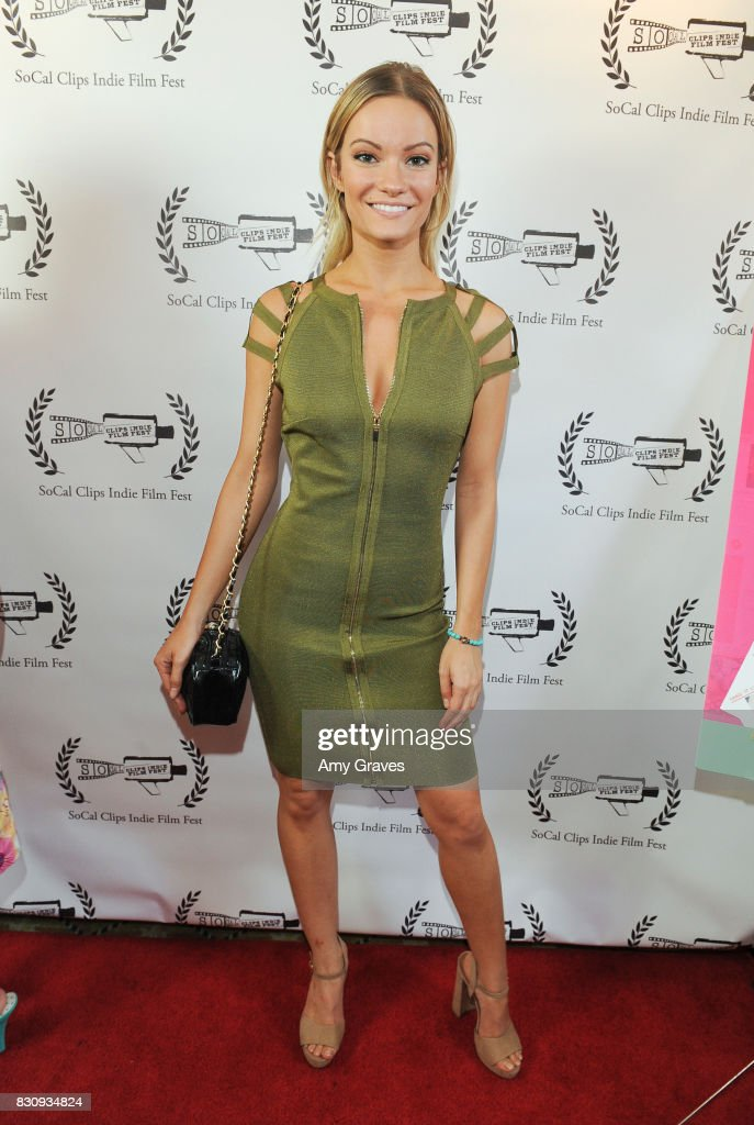 Caitlin O'Connor attends the Premiere Of 'As In Kevin' At Socal Clips Indie Film Fest on August 12, 2017 in Los Angeles, California.