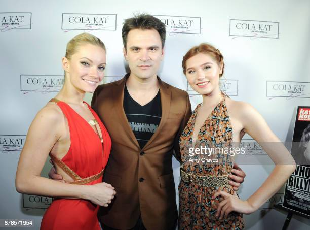 Caitlin O'Connor Kash Hovey and Serena Laurel attend the 'Who Is Billy Bones' TV Premiere Event on November 19 2017 in Beverly Hills California