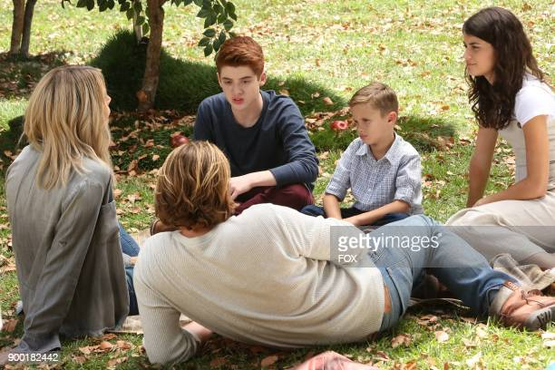 Caitlin Olson Scott MacArthur Thomas Barbusca Jack Stanton and Sofia BlackDElia in the The Visit episode of THE MICK airing Tuesday Oct 10 on FOX