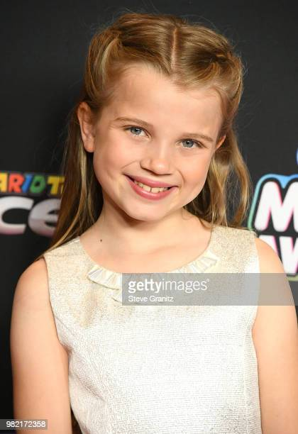 Caitlin Reagan arrives at the 2018 Radio Disney Music Awards at Loews Hollywood Hotel on June 22 2018 in Hollywood California