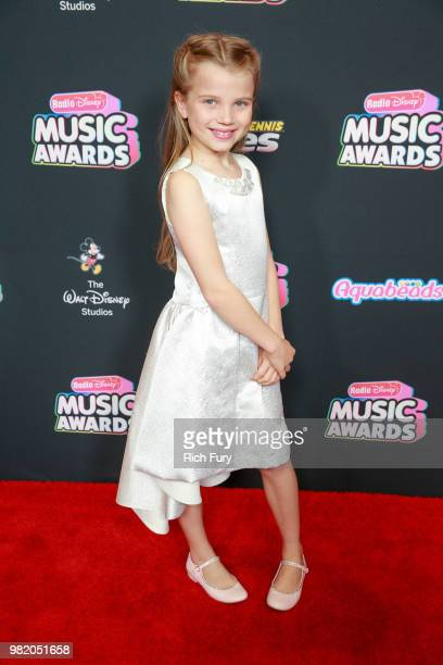 Caitlin Reagan attends the 2018 Radio Disney Music Awards at Loews Hollywood Hotel on June 22 2018 in Hollywood California