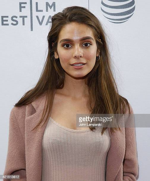 Caitlin Stasey attends 'Fear Inc' Premiere during the 2016 Tribeca Film Festival at Chelsea Bow Tie Cinemas on April 15 2016 in New York City