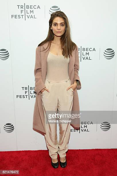Caitlin Stasey attends the 'Fear Inc' Premiere during the 2016 Tribeca Film Festival at Regal Battery Park Cinemas on April 15 2016 in New York City