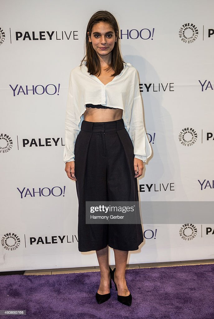 Caitlin Stasey attends the Paley Center for Media on October 22, 2015 in Beverly Hills, California.