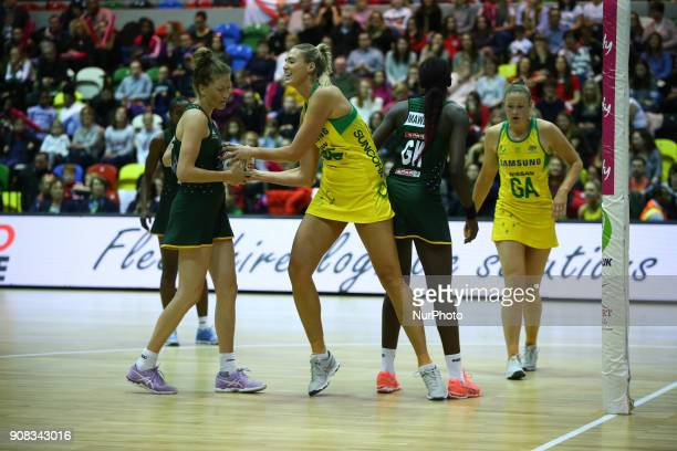 Caitlin Thwaites of Samsung Diamonds during Vitality Netball International Series as part of the Netball Quad Series match between South Africa SPAR...