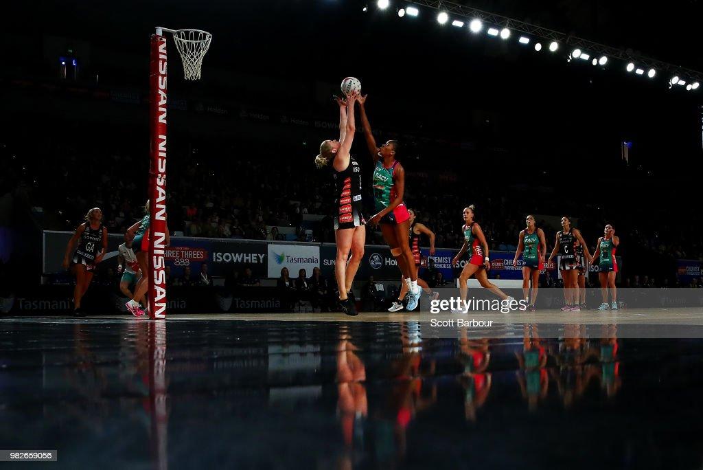Super Netball Rd 8 - Magpies v Vixens
