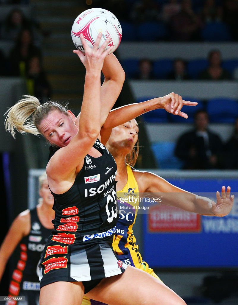 Super Netball Rd 4 - Magpies v Lightning