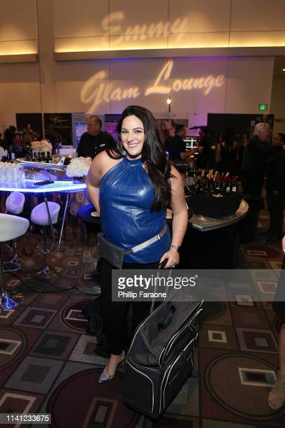 Caitlyn Becker attends the Daytime Emmy Awards PreAwards Networking Party/Gift Lounge at Pasadena Convention Center on May 4 2019 in Pasadena...