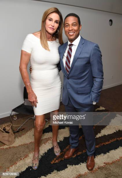 Caitlyn Jenner and Don Lemon attend OUT Magazine's OUT POWER 50 gala and award presentation presented by Genesis on August 10 2017 in Los Angeles...