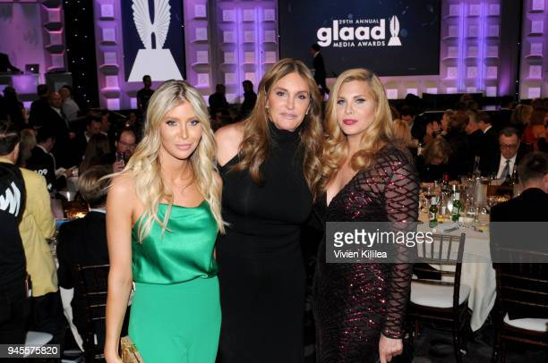 Caitlyn Jenner and guests at the 29th Annual GLAAD Media Awards at The Beverly Hilton Hotel on April 12 2018 in Beverly Hills California