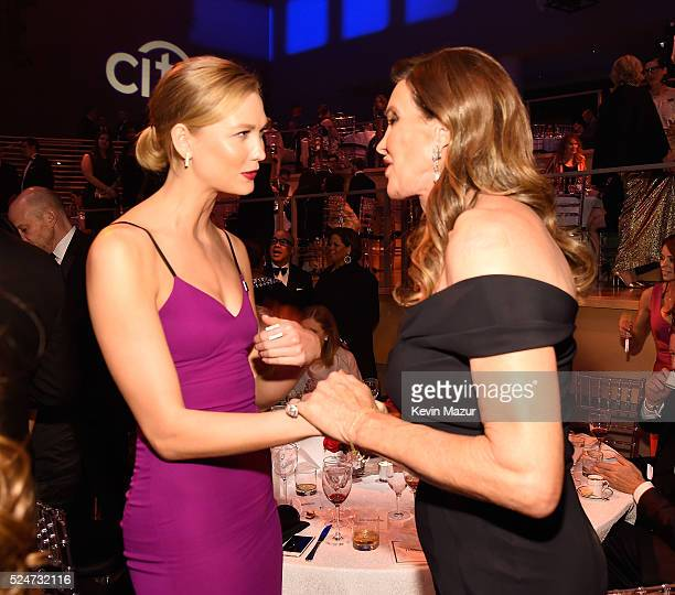 Caitlyn Jenner and Karlie Kloss attend the 2016 Time 100 Gala Time's Most Influential People In The World at Jazz At Lincoln Center at the Time...