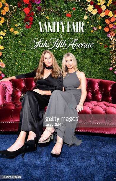 Caitlyn Jenner and Sophia Hutchins attend as Vanity Fair and Saks Fifth Avenue celebrate Vanity Fair's BestDressed 2018 at Manhatta on September 12...