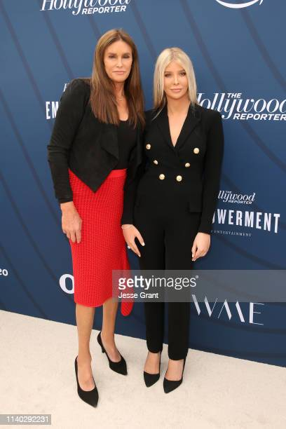 Caitlyn Jenner and Sophia Hutchins attend The Hollywood Reporter's Empowerment In Entertainment Event 2019 at Milk Studios on April 30 2019 in Los...