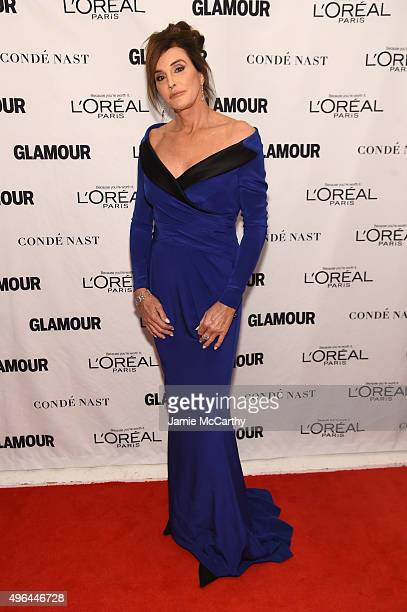 Caitlyn Jenner attends 2015 Glamour Women Of The Year Awards at Carnegie Hall on November 9 2015 in New York City