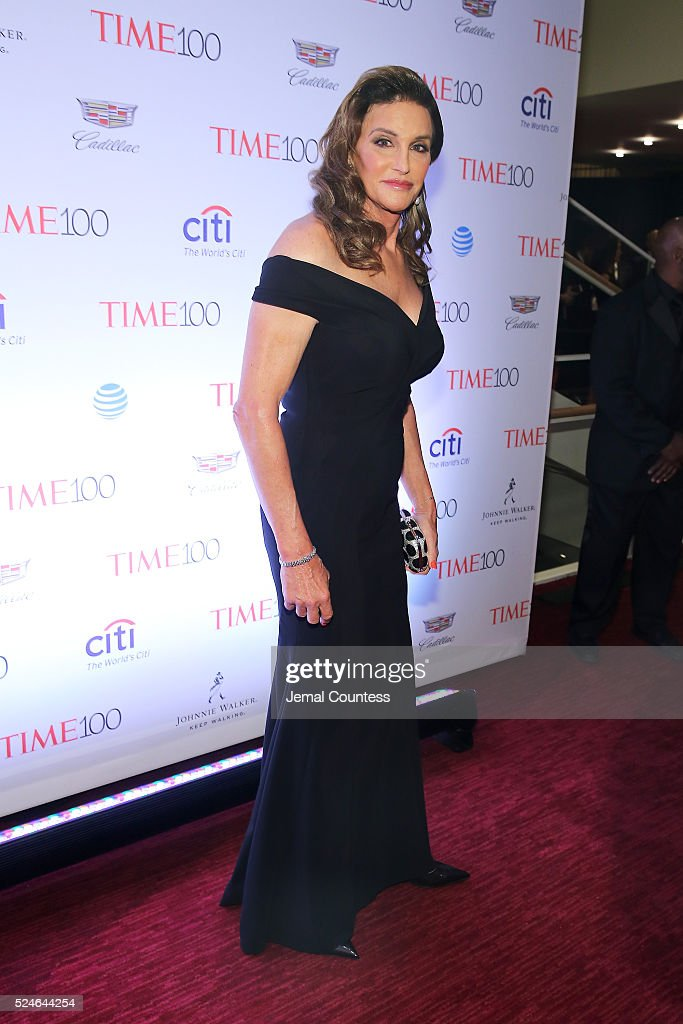 Caitlyn Jenner attends 2016 Time 100 Gala, Time's Most Influential People In The World - Cocktails at Jazz At Lincoln Center at the Times Warner Center on April 26, 2016 in New York City.