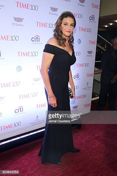 Caitlyn Jenner attends 2016 Time 100 Gala Time's Most Influential People In The World Cocktails at Jazz At Lincoln Center at the Times Warner Center...