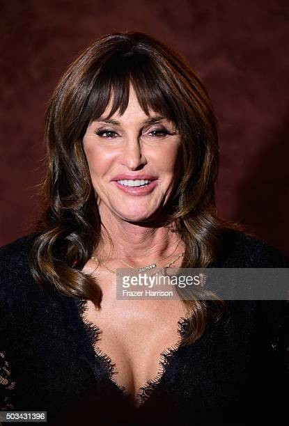 Caitlyn Jenner attends a special screening of 'Tangerine' at Landmark Nuart Theatre on January 4 2016 in Los Angeles California