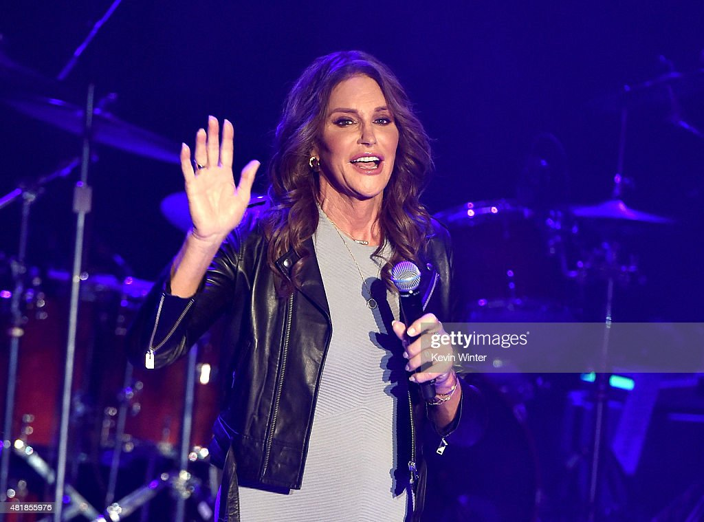 Caitlyn Jenner Attends Culture Club Performance At The Greek Theatre : News Photo