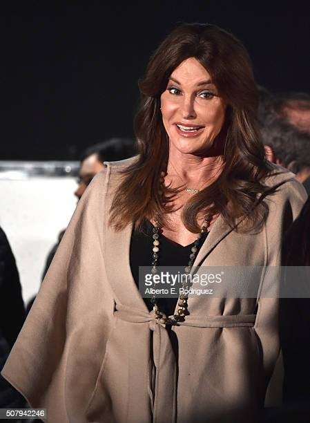 Caitlyn Jenner attends the 2016 MAKERS Conference at Terranea Resort on February 1 2016 in Rancho Palos Verdes California