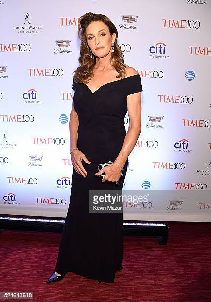 Caitlyn Jenner attends the 2016 Time 100 Gala Time's Most Influential People In The World at Jazz At Lincoln Center at the Time Warner Center on...