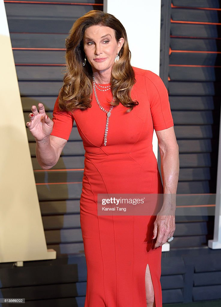 Caitlyn Jenner attends the 2016 Vanity Fair Oscar Party Hosted By Graydon Carter at Wallis Annenberg Center for the Performing Arts on February 28, 2016 in Beverly Hills, California.
