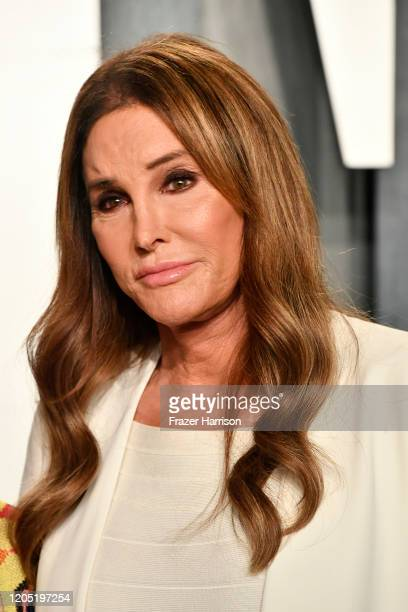 Caitlyn Jenner attends the 2020 Vanity Fair Oscar Party hosted by Radhika Jones at Wallis Annenberg Center for the Performing Arts on February 09,...