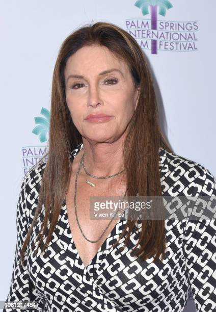 Caitlyn Jenner attends the 30th Annual Palm Springs International Film Festival on January 11 2019 in Palm Springs California