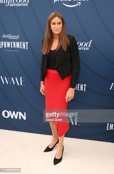 Caitlyn Jenner attends The Hollywood Reporter's Empowerment In Entertainment Event 2019 at Milk Studios on April 30, 2019 in Los Angeles, California.