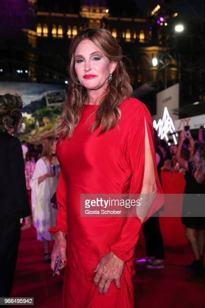 Caitlyn Jenner attends the Life Ball 2018 at City Hall on June 2 2018 in Vienna Austria The Life Ball an annual charity event raising funds for HIV...