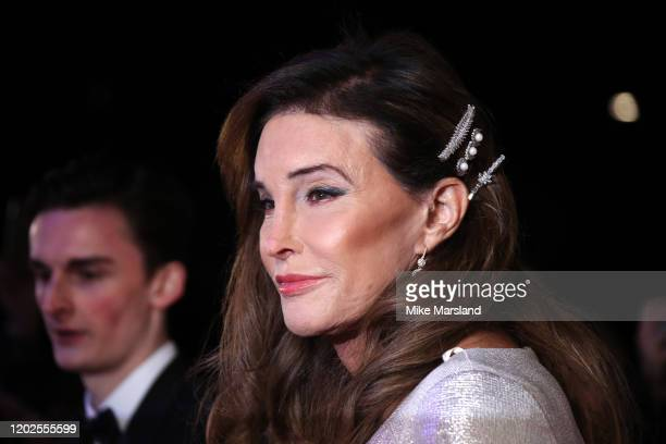 Caitlyn Jenner attends the National Television Awards 2020 at The O2 Arena on January 28, 2020 in London, England.